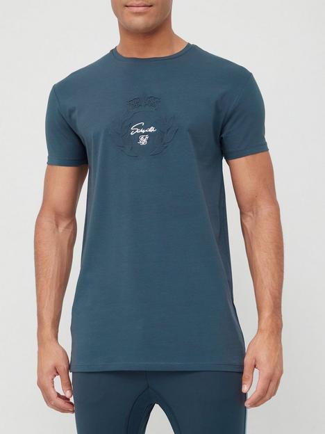 sik-silk-short-sleeve-surface-tech-t-shirt-navy