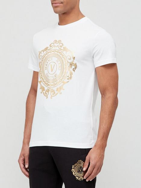 versace-jeans-couture-large-gold-logo-t-shirt-white