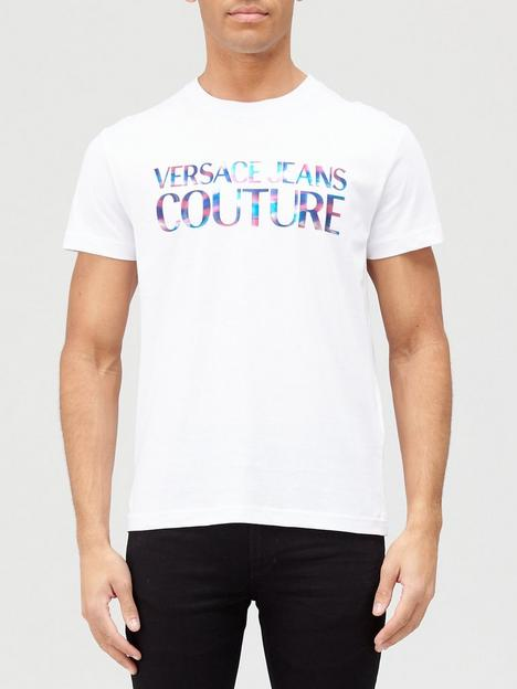 versace-jeans-couture-colourfulnbsplogo-t-shirt-white