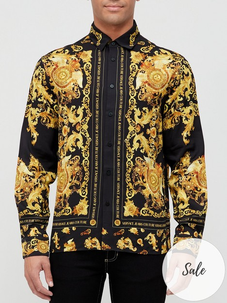 versace-jeans-couture-baroque-print-shirt-black