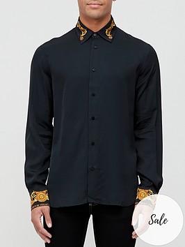 versace-jeans-couture-contrast-baroque-slim-fit-shirt-black