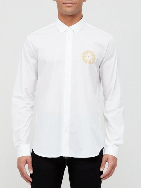 versace-jeans-couture-gold-coin-logo-slim-fit-shirt-white
