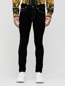 versace-jeans-couture-skinny-fit-jeans-blackbr-nbsp