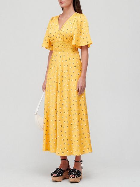 kate-spade-new-york-garden-ditsy-satin-dress-yellow