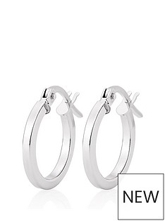 beaverbrooks-beaverbrooks-9ct-white-gold-hoop-earrings