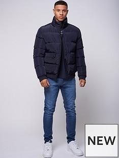 criminal-damage-lyon-padded-jacket-navynbsp