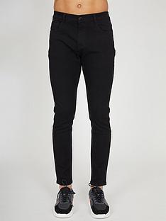 criminal-damage-slim-fit-jeans-black