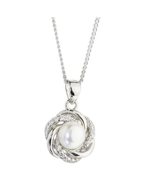 love-pearl-925-sterling-silver-rhodium-plated-freshwater-pearl-white-cubic-zirconia-flower-pendant