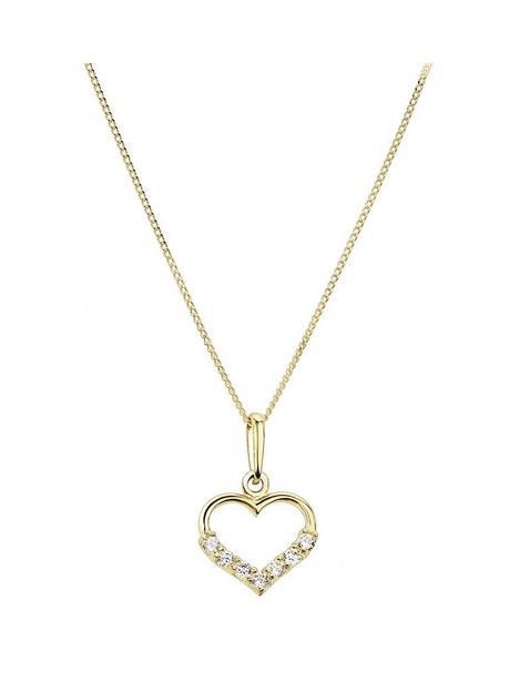 love-gold-9ct-yellow-gold-cubic-zirconia-heart-pendant