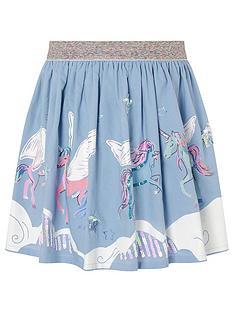 monsoon-girls-sequin-cloud-unicorn-print-skirt-blue