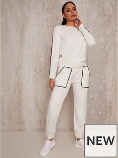 chi-chi-london-contrast-binding-lounge-wear-set-cream