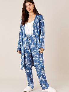 monsoon-floral-print-robe-blue