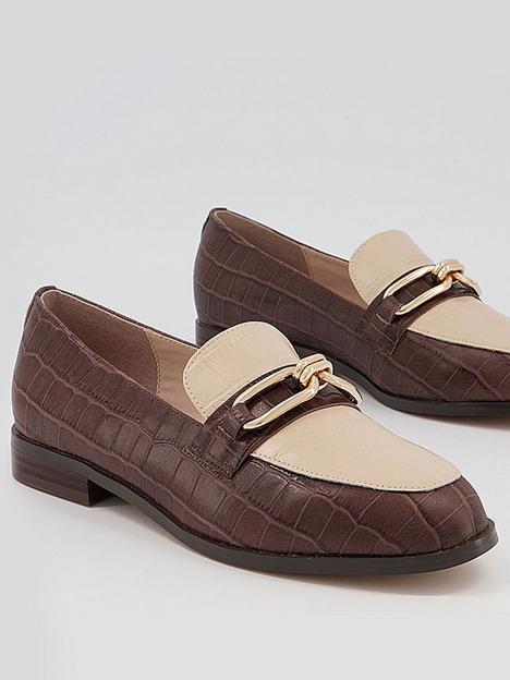 office-finer-contrast-trim-loafer