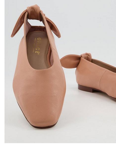 office-fleeting-bow-back-soft-ballerina