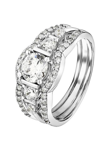 the-love-silver-collection-the-love-silver-collection-925-sterling-silver-rhodium-plated-silver-65mm-white-cubic-zirconia-3-piece-set-ring