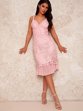 chi-chi-london-corset-style-crochet-midi-dress-minknbsp