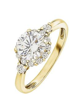 love-gold-9ct-yellow-gold-vintage-halo-cubic-zirconia-ring