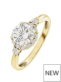 love-gold-love-gold-9ct-yellow-gold-vintage-halo-cubic-zirconia-ring