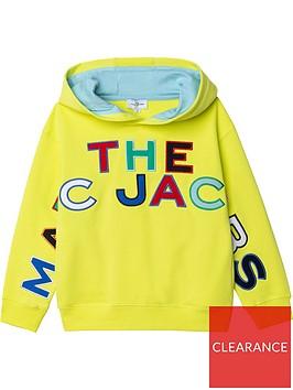 little-marc-jacobs-boys-hooded-logo-sweatshirt-yellow