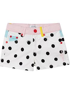 little-marc-jacobs-girls-spot-short-whiteblack