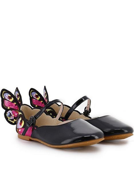 sophia-webster-junior-chiara-embroidery-flat-shoes-black