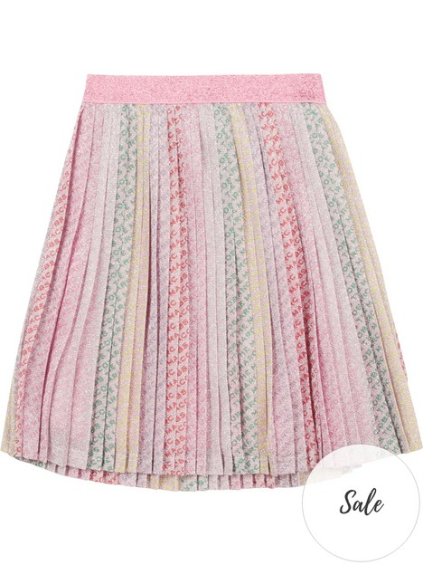 little-marc-jacobs-girls-metallic-pleated-skirt-multi