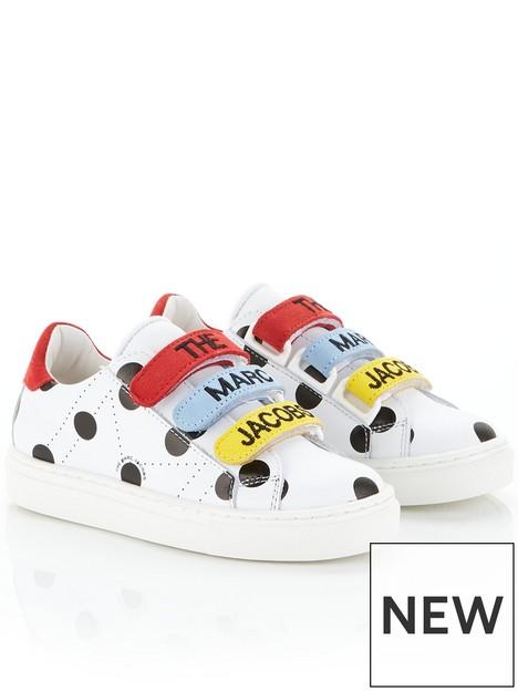little-marc-jacobs-girls-spot-logo-sneakers-multi