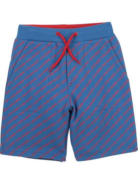 little-marc-jacobs-boys-all-over-printnbsplogo-bermuda-shorts-redblue