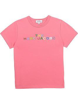 little-marc-jacobs-girls-short-sleeve-logo-t-shirt-pink