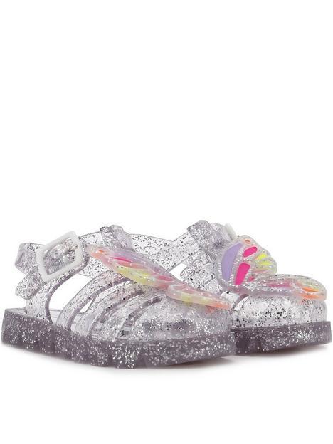 sophia-webster-butterfly-jelly-sandals-silver