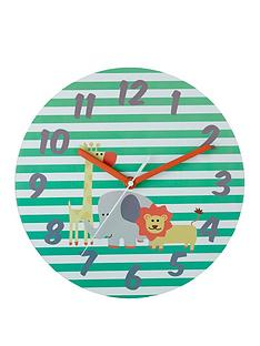 premier-housewares-safari-wall-clock