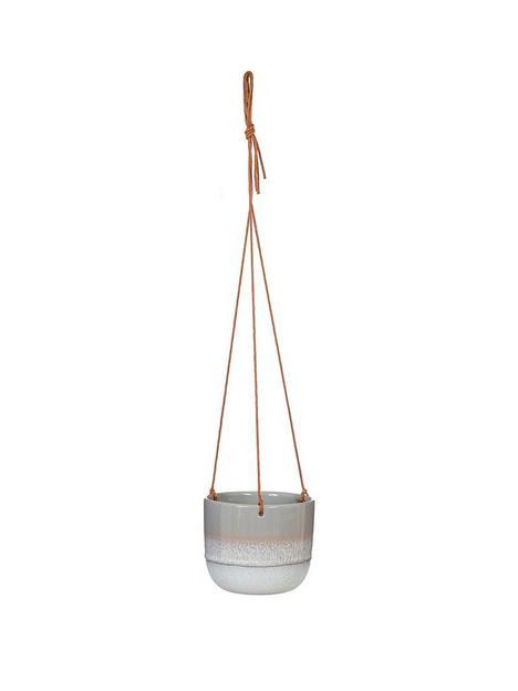 sass-belle-mojave-glaze-grey-hanging-planter