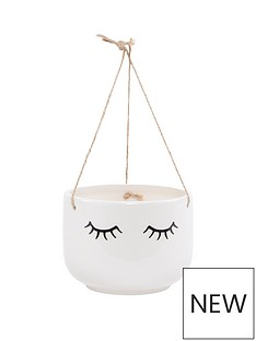 sass-belle-eyes-shut-hanging-planter