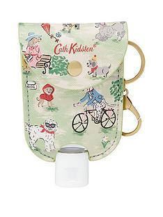 cath-kidston-cath-kidston-park-dogs-handbag-charm-with-45ml-moisturising-antibacterial-hand-gel