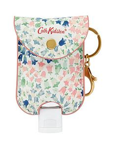 cath-kidston-cath-kidston-bluebells-handbag-charm-with-45ml-moisturising-antibacterial-hand-gel