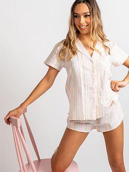 boux-avenue-stripe-shortie-in-a-bag-pink-mix