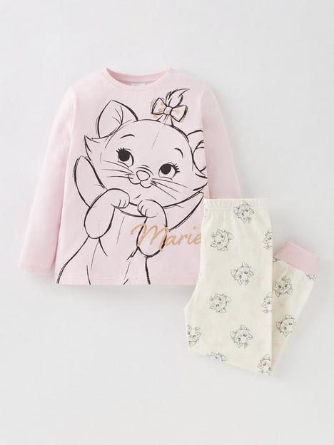 disney-the-aristocats-girlsnbspmarie-long-sleeve-pyjamas-pink