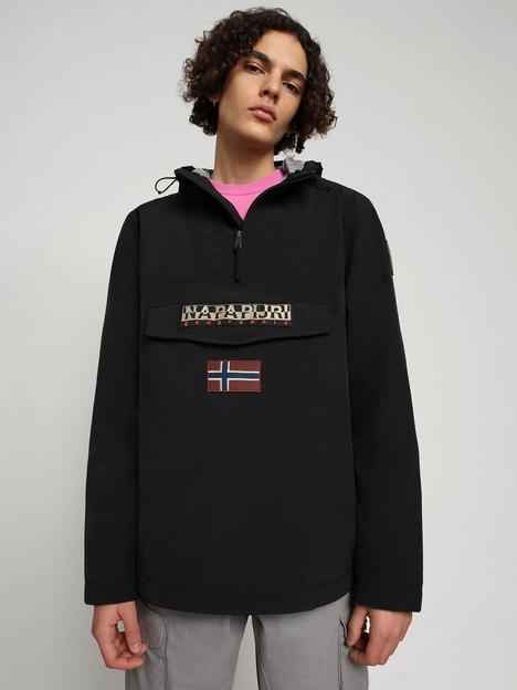 napapijri-rainforest-one-pocket-water-resistant-jacket-black
