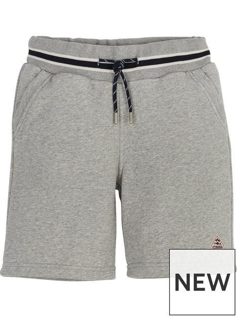 pyrenex-boys-mael-sweat-shorts-grey-marl