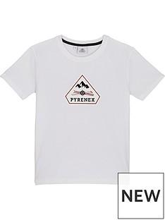 pyrenex-girls-karel-classic-fit-t-shirt-white