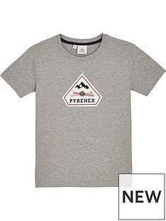 pyrenex-girls-karel-classic-fit-t-shirt-grey-marl