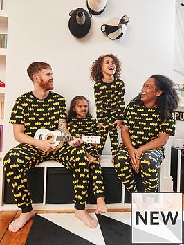 batman-unisex-kids-halloweennbspbatman-mini-me-pyjamas-black