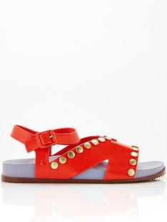 melissa-vivienne-westwood-ciao-sandals-red