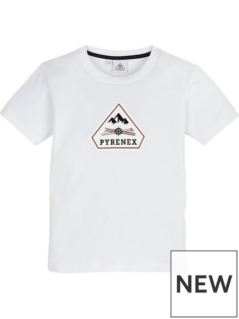 pyrenex-boys-karel-classic-fit-t-shirt-white