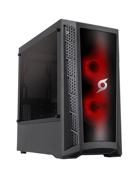 zoostorm-stormforce-onyx-i3-10100f-gaming-pc--nbspintel-core-i3-gtx-1650-graphics-8gb-ram-120gb-ssd-ampnbsp1tb-hard-drive