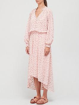 coster-copenhagen-printed-maxi-dress-pink