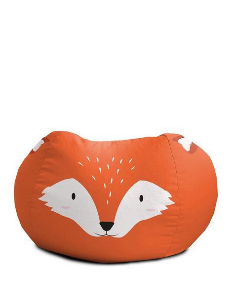 rucomfy-fox-animal-bean-bag