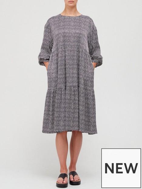 gestuz-ila-print-smock-dress-multi