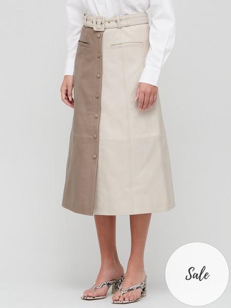 gestuz-roxanne-skirt-oatmeal