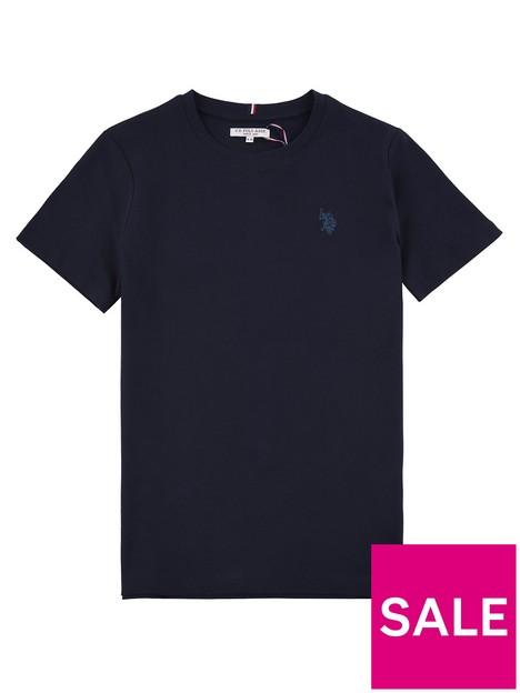 us-polo-assn-boys-core-t-shirt-navy